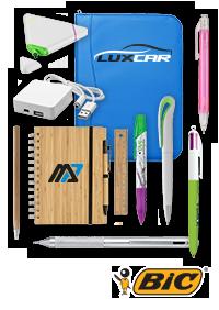 Accéssoires bureau et stylos personnalisés publicitaires