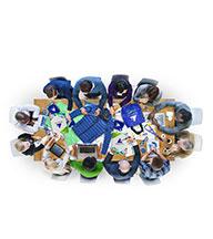 Promoplus ON DEMDAND : Notre équipe commerciale à votre service dans vos recherche d'objets publicitaires personnalisés avec logo